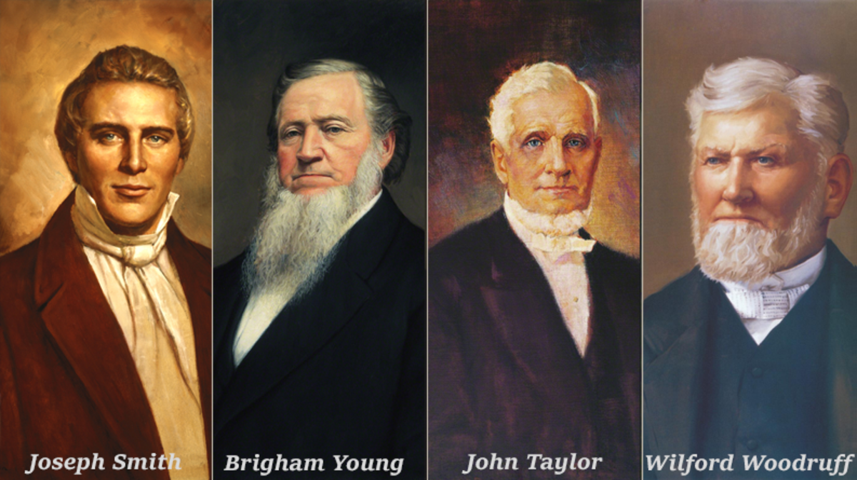 First four presidents of the Church