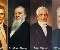 First four presidents