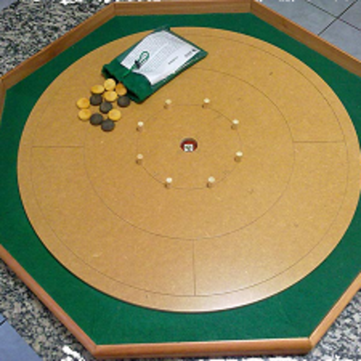 New crokinole board