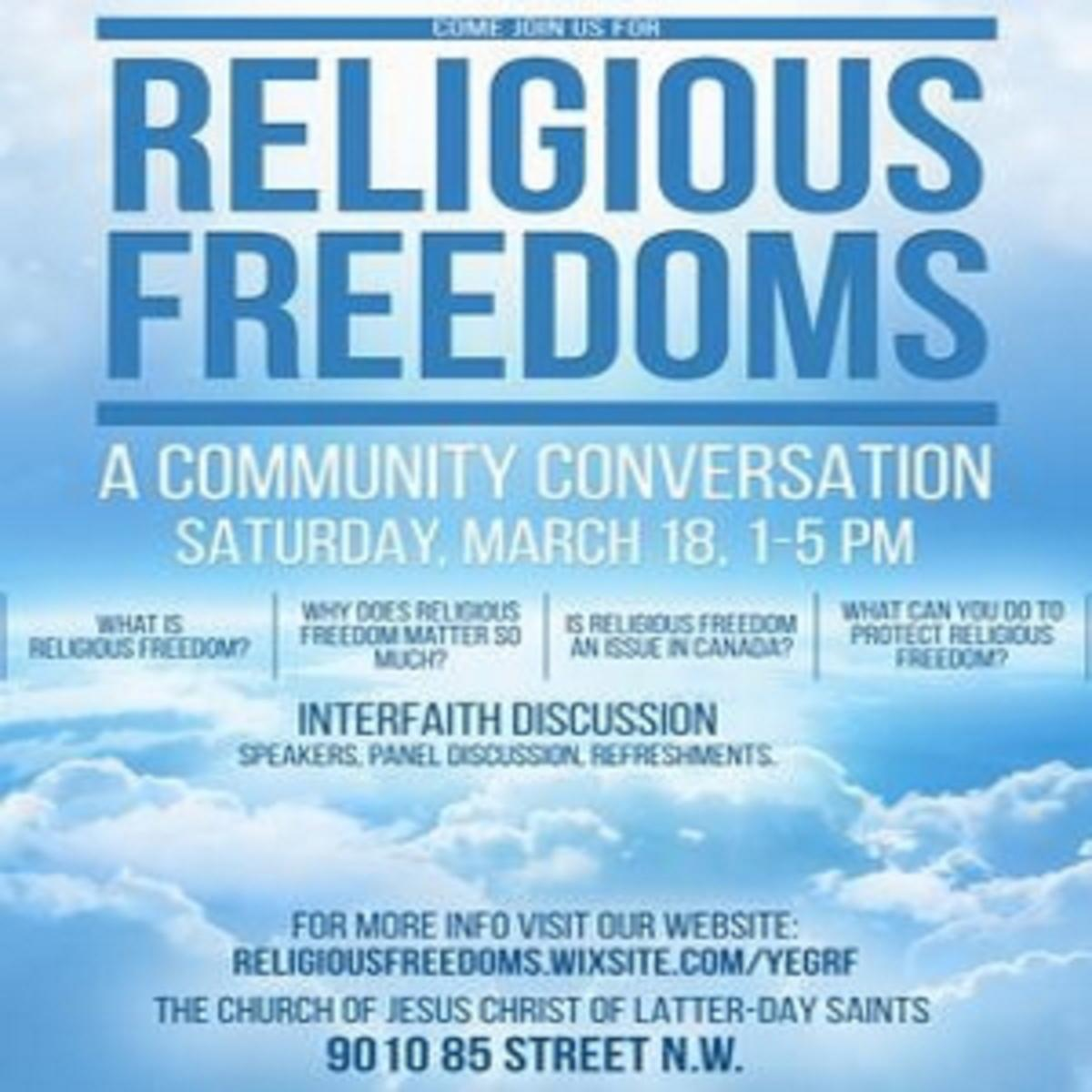 Religious Freedoms poster