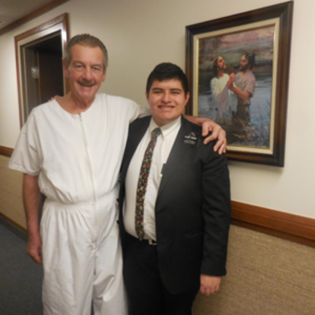 elder and baptism
