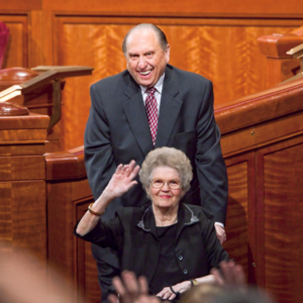 President Monson and his wife