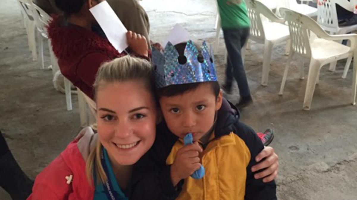 Natalya with Little Boy