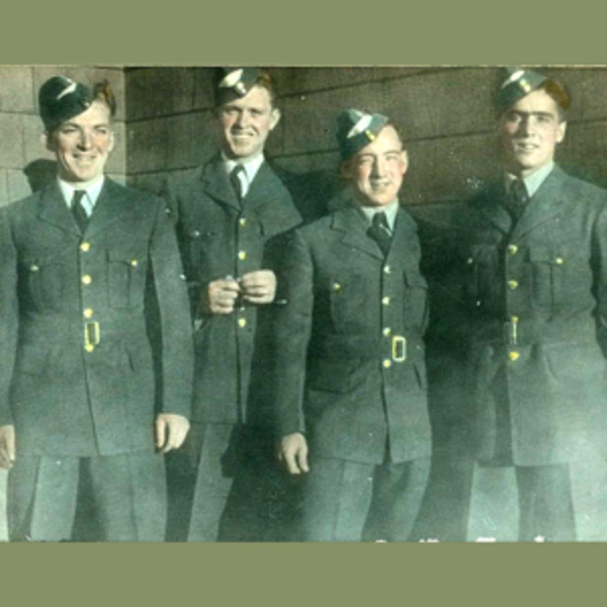 2-WWII-graduating-four
