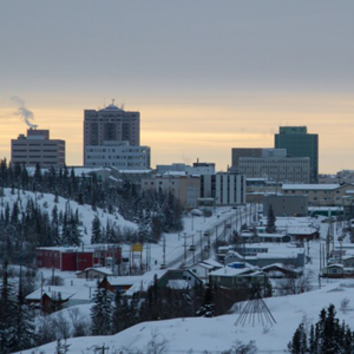 Winter in Yellowknife
