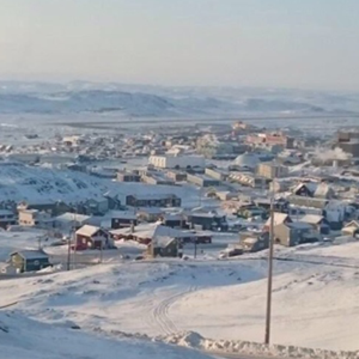 Winter in Iqaluit