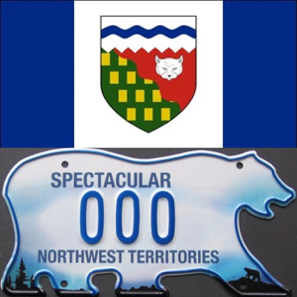 Nowthwest Territory flag