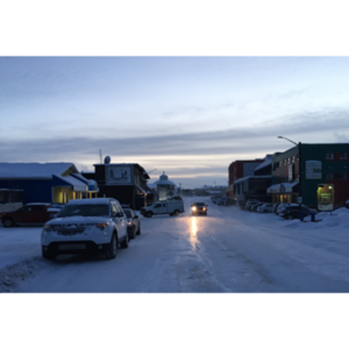 January weather in Inuvik