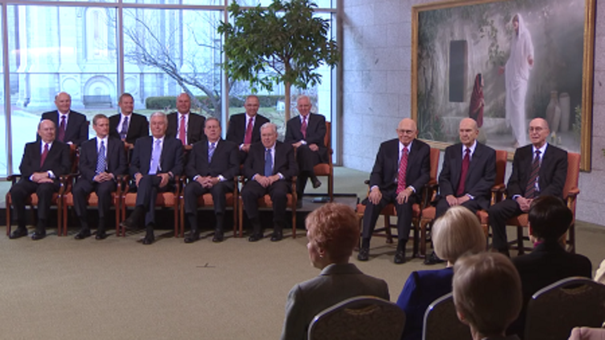 First Presidency of the Church of Jesus Christ of Latter-day Saints and the Quorum of the Twelve Apostles