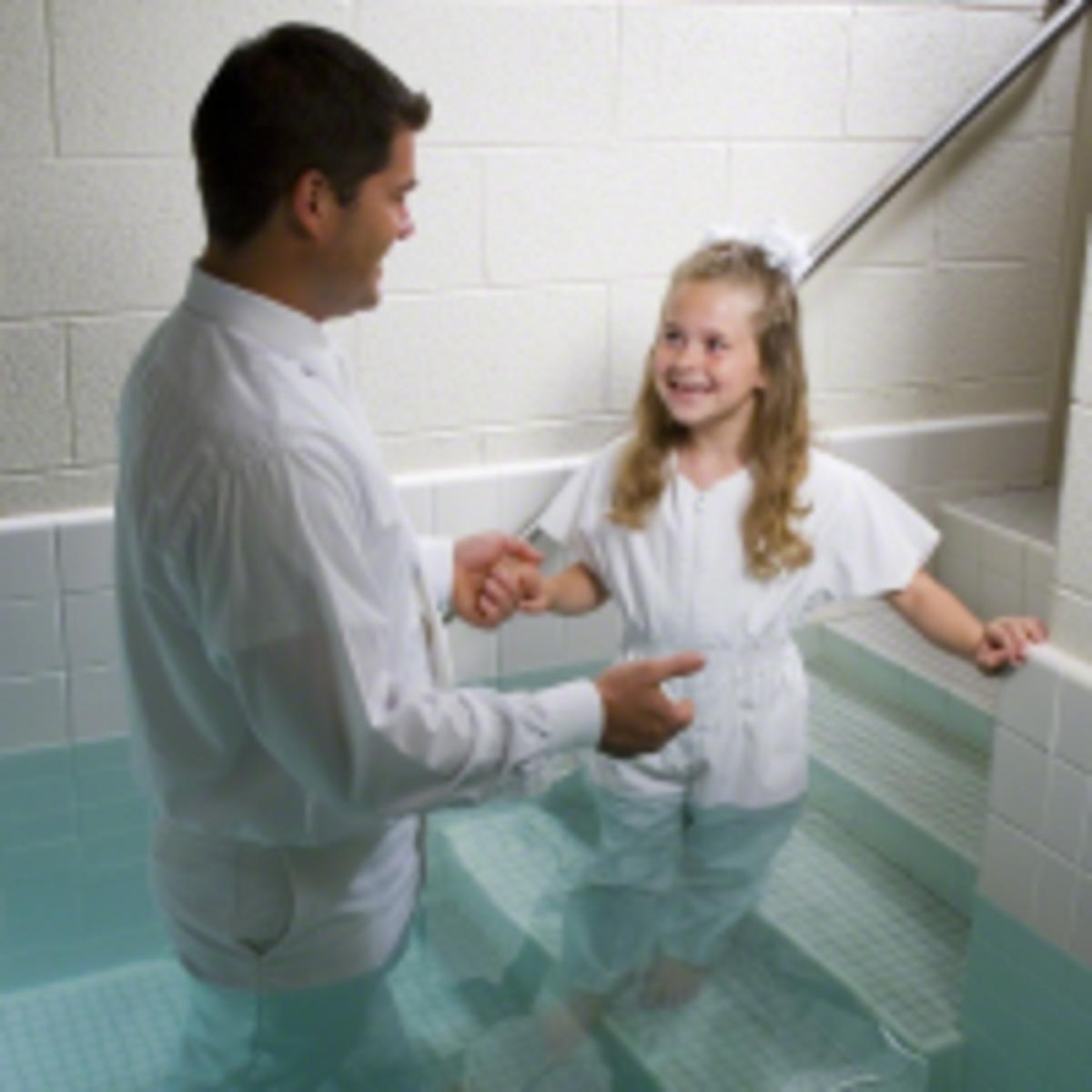 baptism of girl