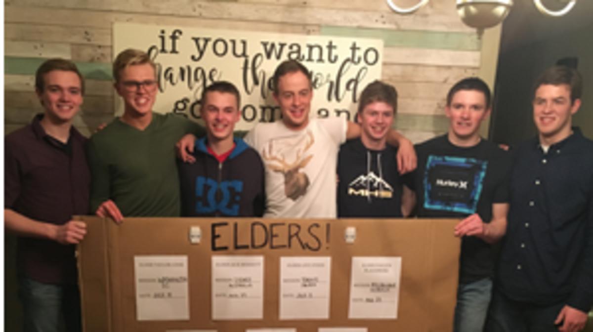 Elders receive mission calls