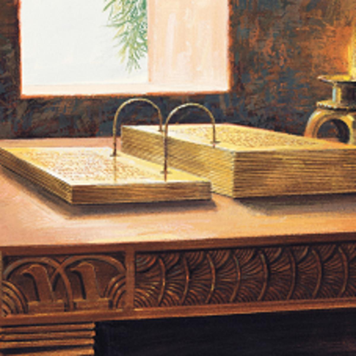 Book of Mormon Gold Plates