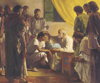Jacob blessing his sons