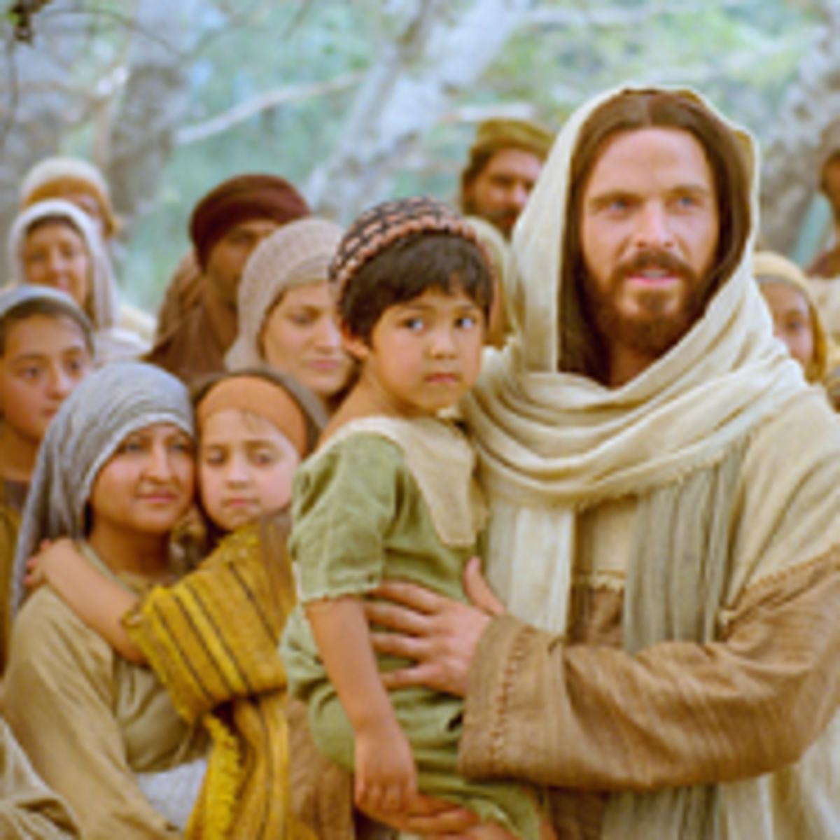 Jesus Christ with the children