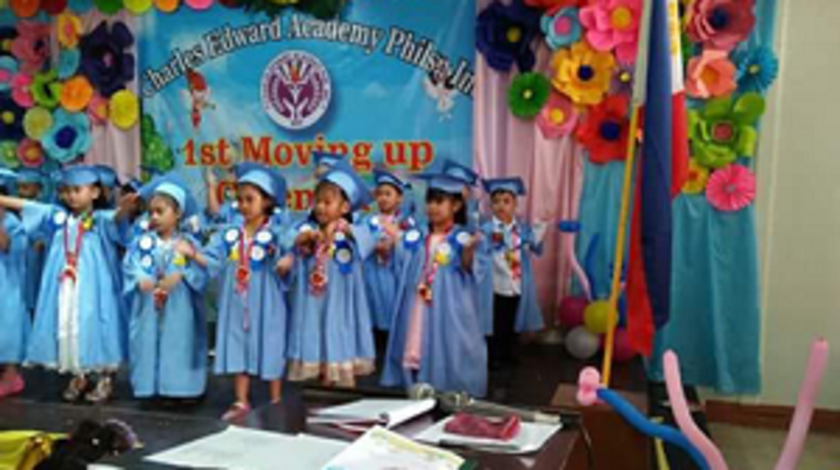 Graduation at children pre-school
