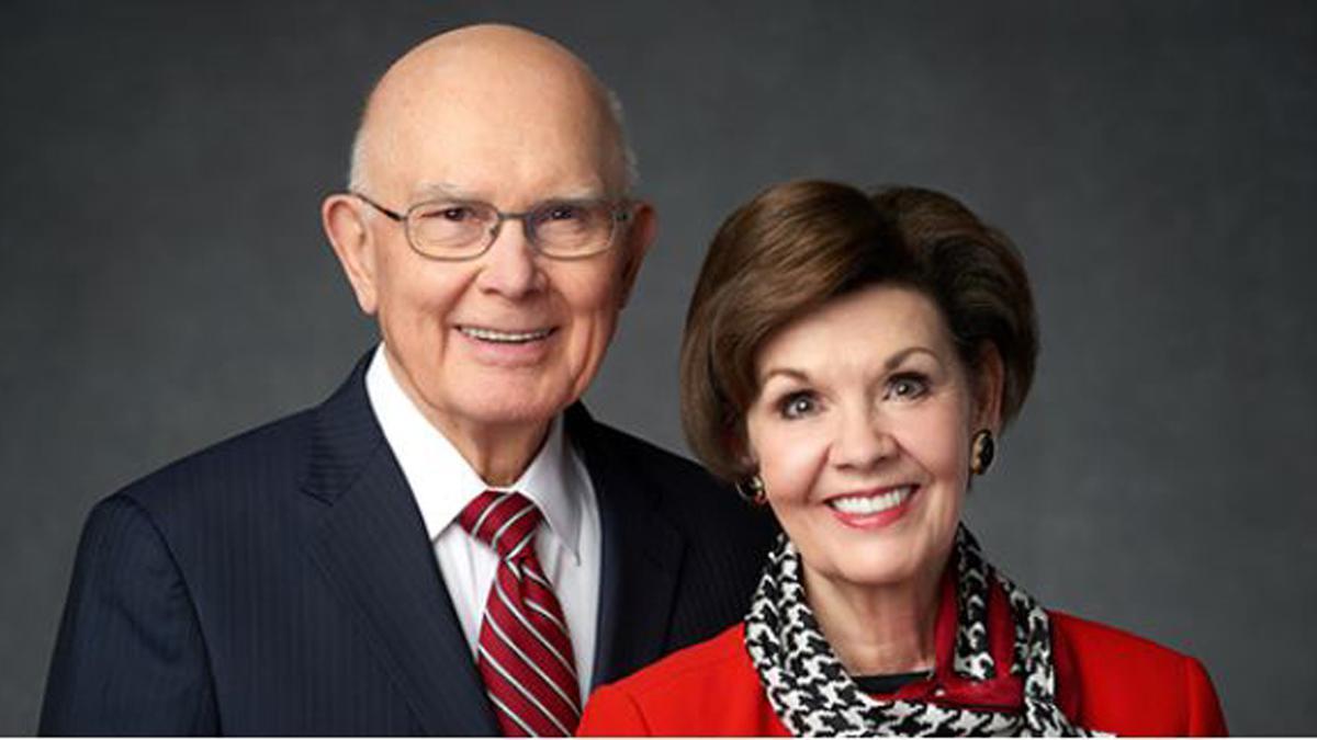 President & Sister Dallin H Oaks