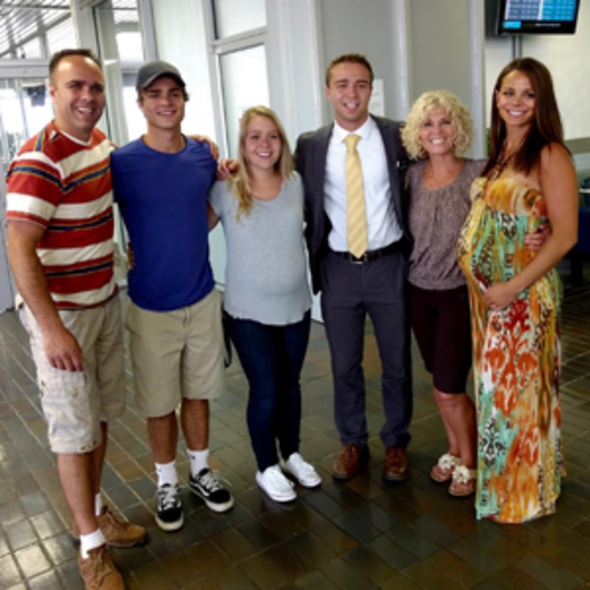 Jaxon Toly family