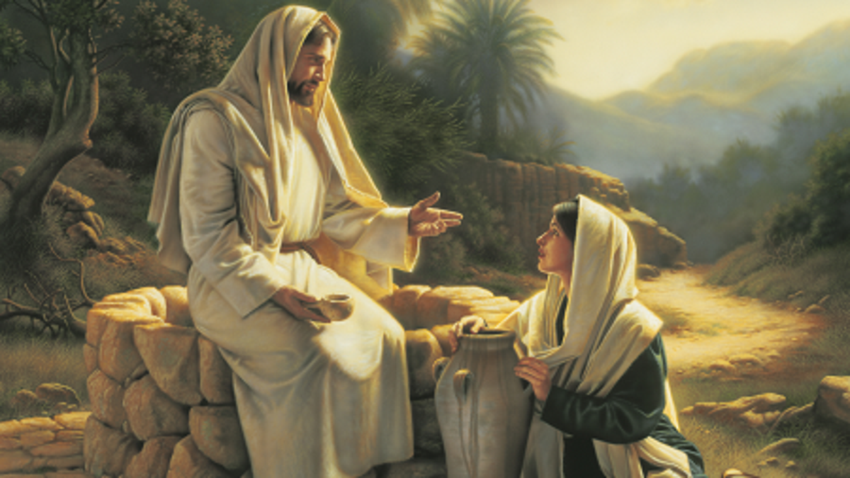 Jesus Christ and the Woman at the well