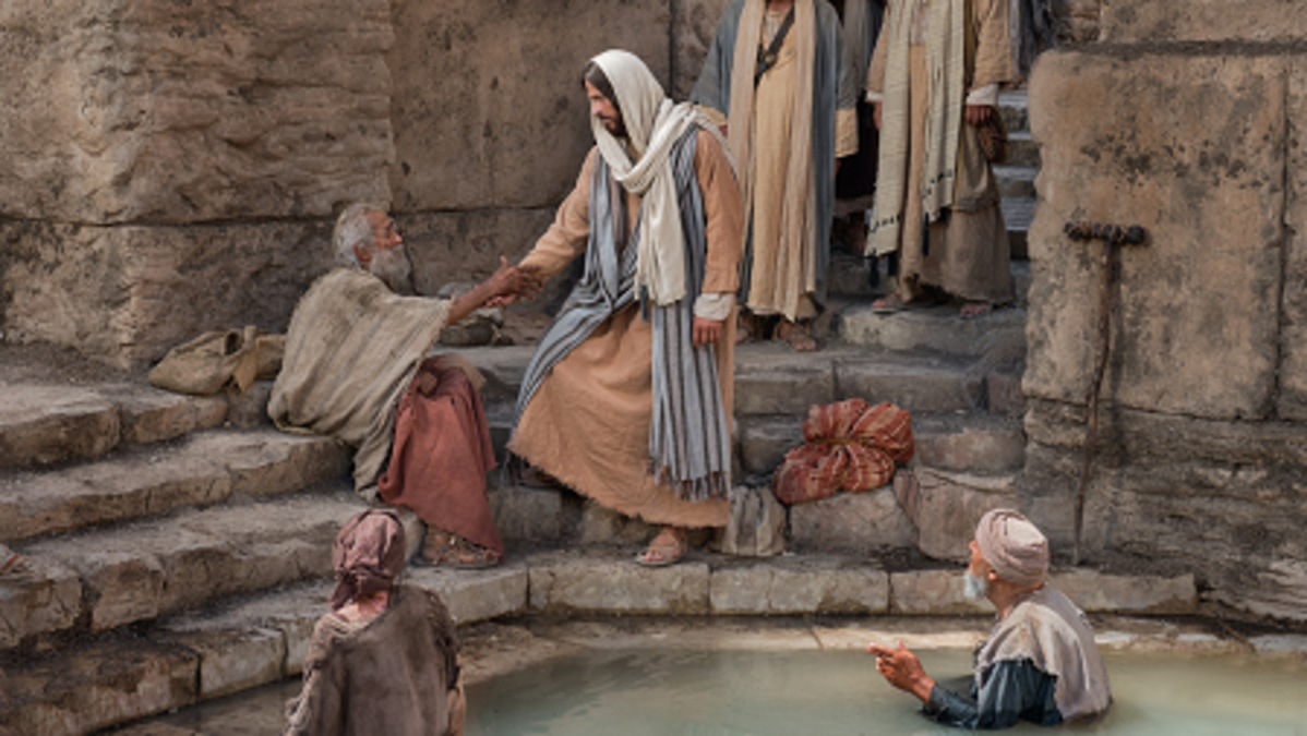 Jesus Christ at the Pool of Bethesda