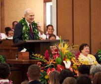 President Nelson in Hawaii