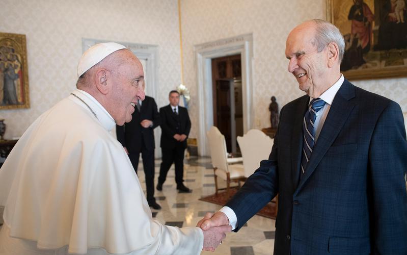 Prophet meets Pope