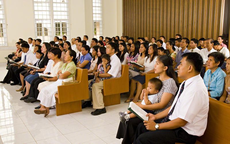 sacrament meeting