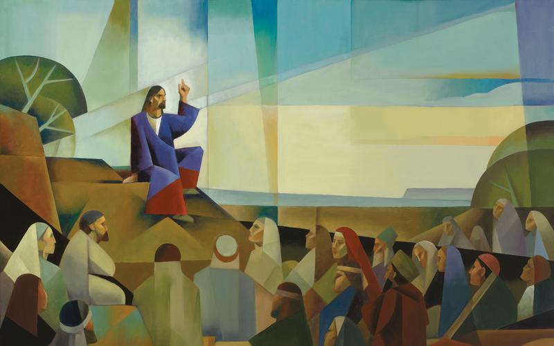 Christ teaching