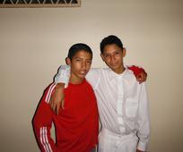 Miguel Angel y David Ram c3 b3n, alumnos de Seminario en Nicaragua.jpg
