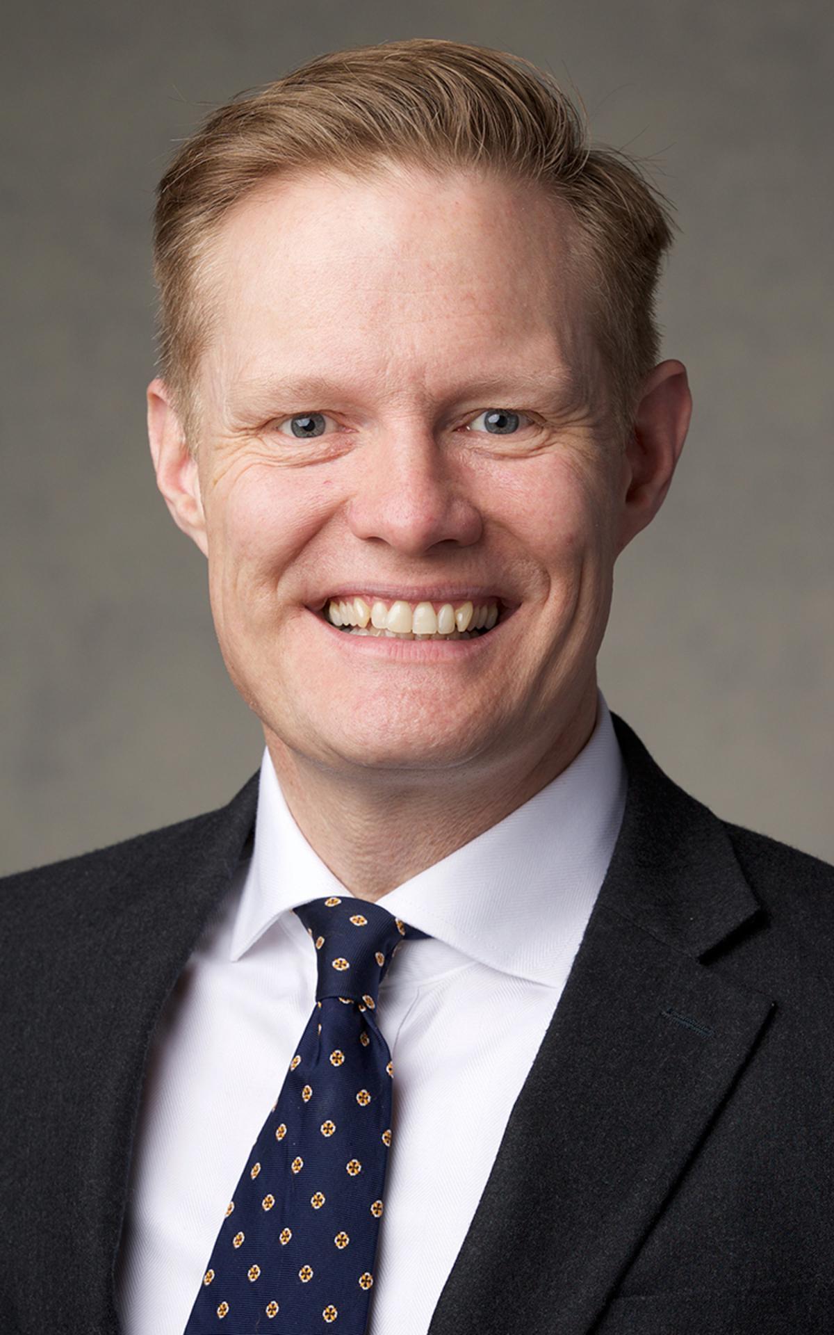 Ouderling Karl D. Hirst