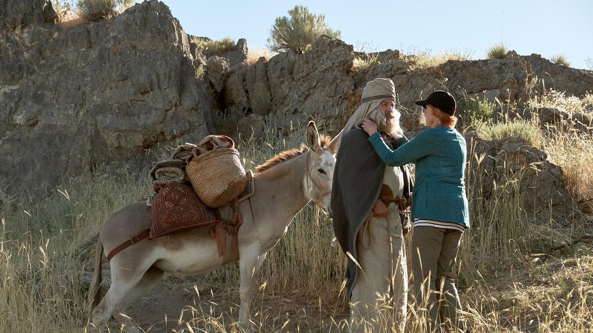 """Rik Meisi, që luan rolin e Lehit, një profet i lashtë, i cili e udhëheq familjen e tij për t'u larguar nga Jerusalemi, tha: """"Kam mësuar shumë më tepër rreth Lehit"""""""