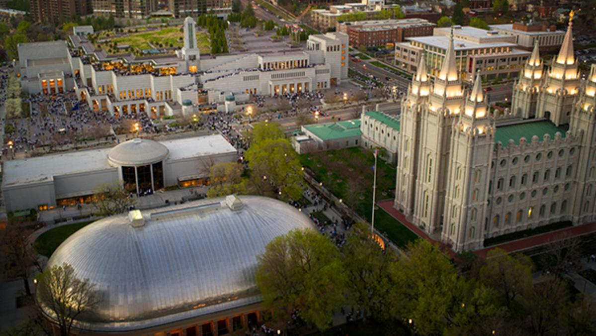 Conference Center in Salt Lake City, Utah, and online (LDS.org)