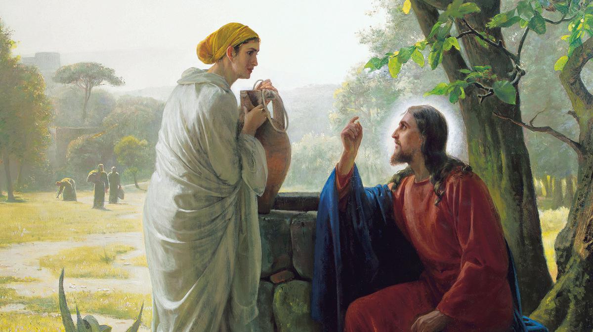 Jesus_samaritisk_kvinna