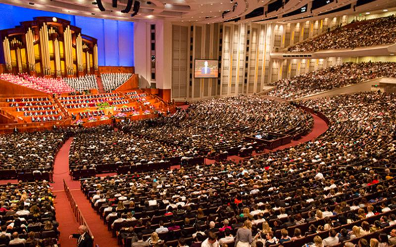 Konferencecenteret i Salt Lake City, Utah