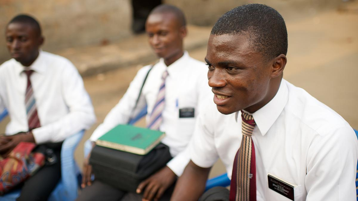 African missionaries