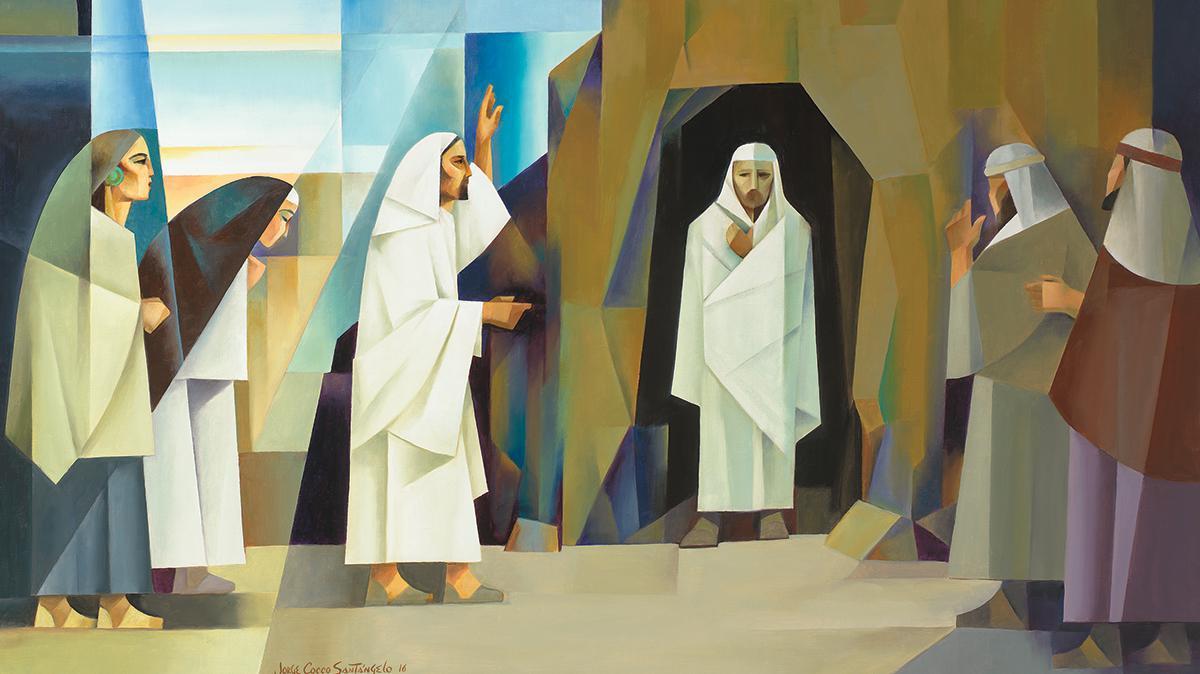 Lázaro é levantado dos mortos