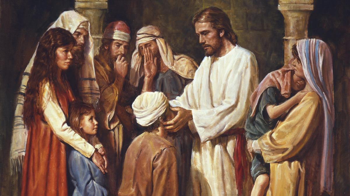 Gesù Benedisce un cieco
