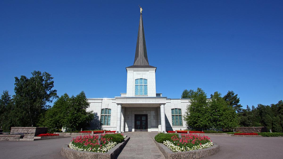 Siste-dagers-hellige templer er hellige bygninger som er innviet til Gud.
