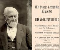 In deze tijd is polygamie voor mormonen streng verboden.