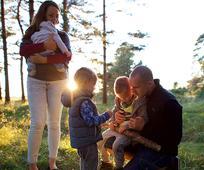 As famílias Mórmons acreditam na importância de passar tempo juntos.