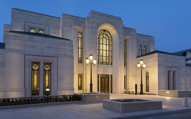 Les temples mormons sont des édifices sacrés et consacrés à Dieu.