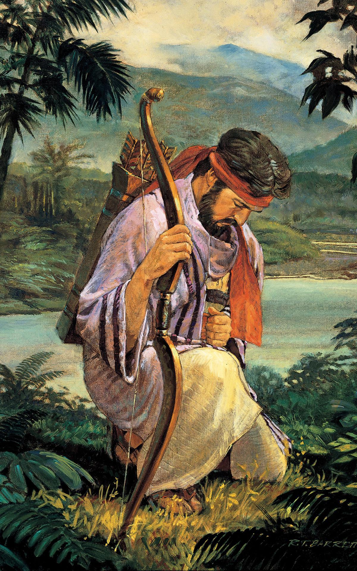 Der Prophet Enos im Buch Mormon betete um Glauben
