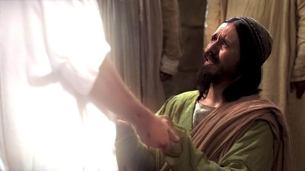 Frelseren viser seg for apostelen Thomas