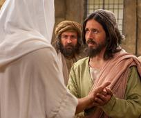 Jesus Christ and doubting Thomas