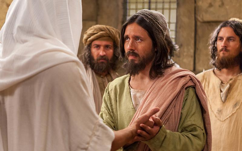 Jezus Christus en ongelovige Thomas