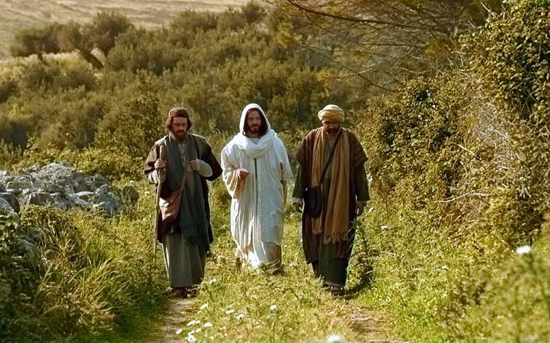 Kristus på veien til Emmaus