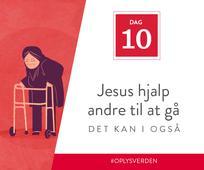 Dag 10 - Jesus hjalp andre til at gå, det kan I også