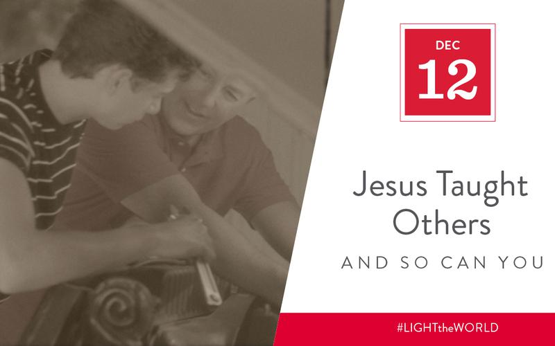 Jesus taught others
