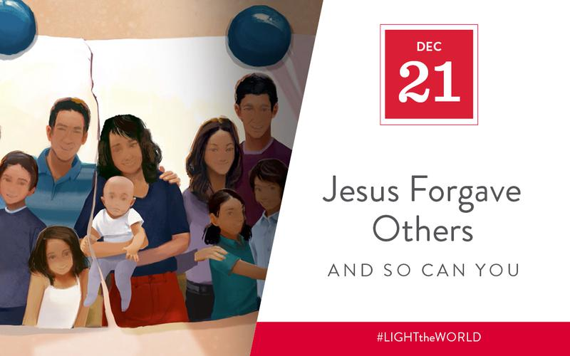Jesus forgave others