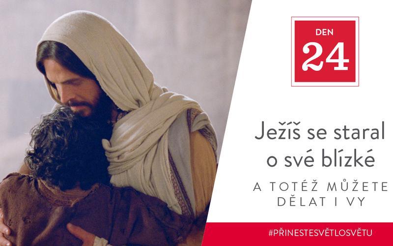 Ježíš se staral o své blízké a totéž můžete dělat i vy