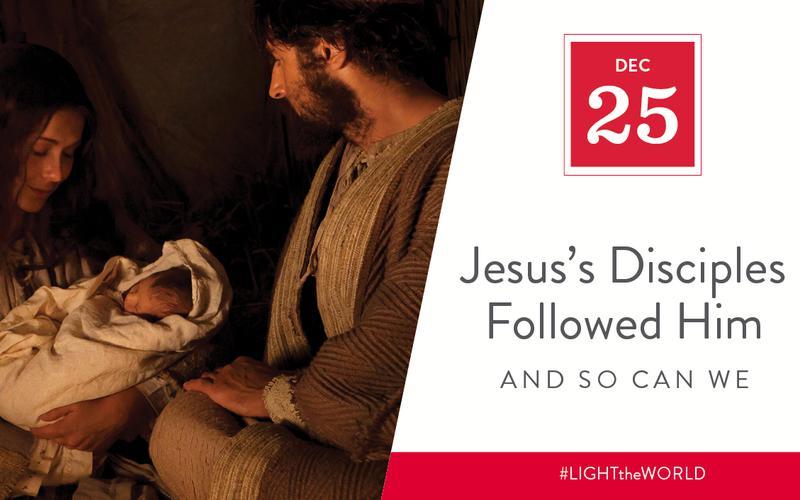Jesus's disciples followed him